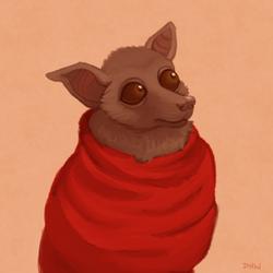 Fruit Bat by DragonHeartWolf