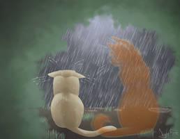 Never Alone by Owlsparky