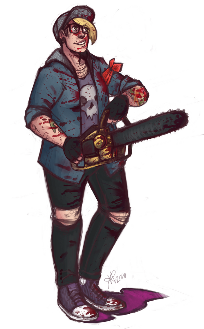 L4D2 - Chainsaw Babe by MohawkRainbow