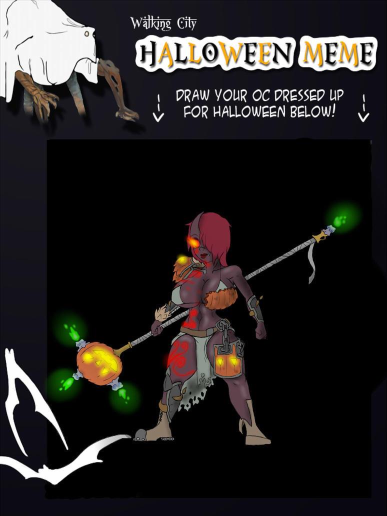 Pumpkin lord Vei: halloween meme by numb-erz