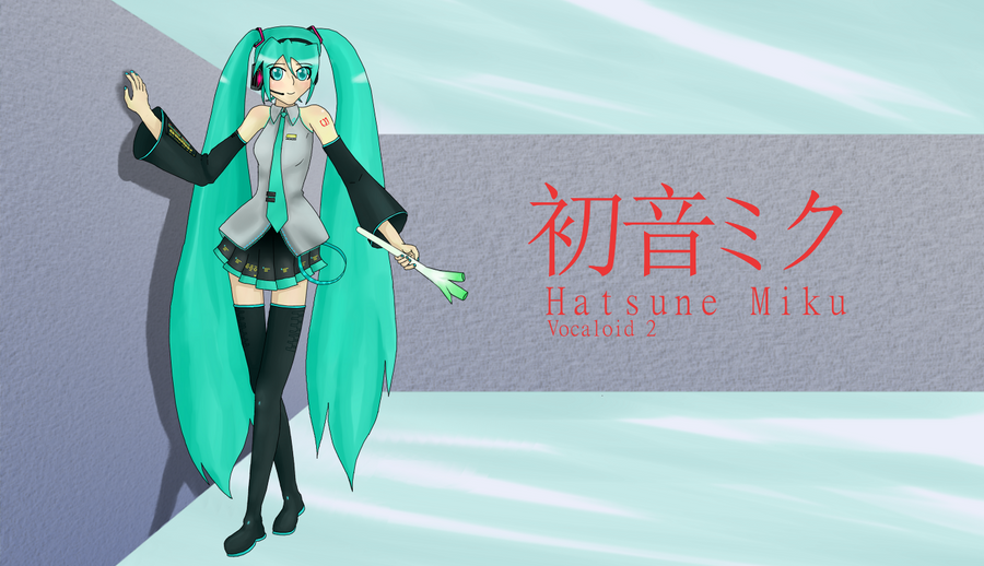 Hatsune Miku Wallpaper by The-Sky-Is-Up