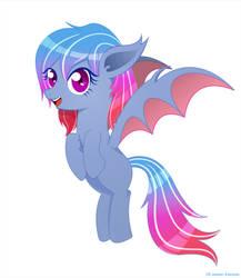 Ezerona bat pony oc by The-Sky-Is-Up