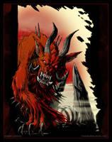 Hellbeast by drakhenliche