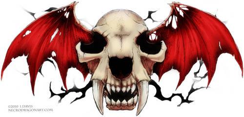 Sabre Skull by drakhenliche