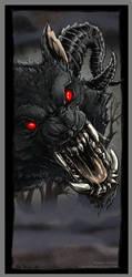 Dire Wolf by drakhenliche