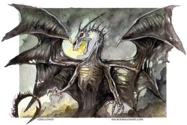 Watercolour Dracoliche by drakhenliche