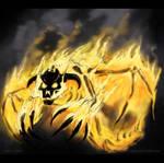 Fire Daemon by drakhenliche