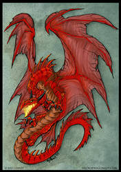 Red Dragon by drakhenliche