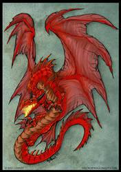 Red Dragon by drakhenliche