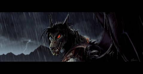 Black Rain by drakhenliche