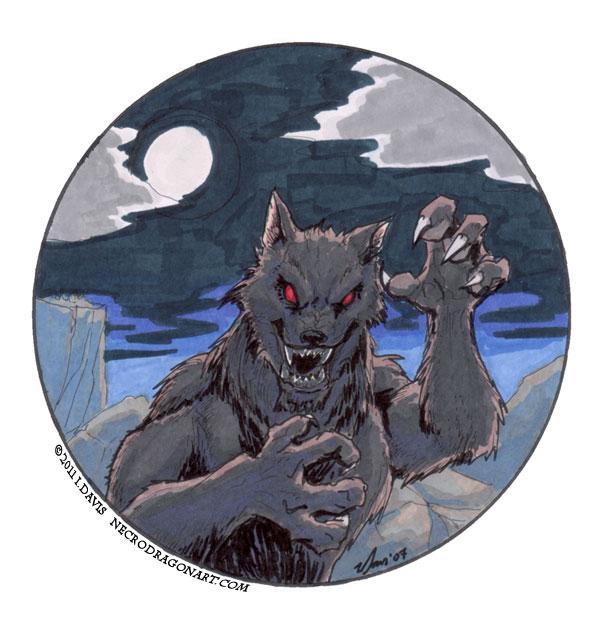 werewolf by drakhenliche