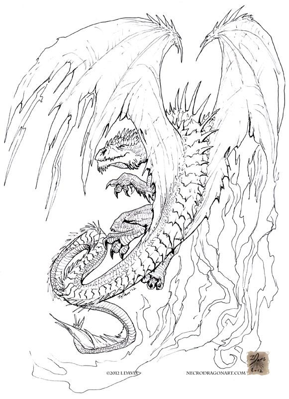 random dragon by drakhenliche