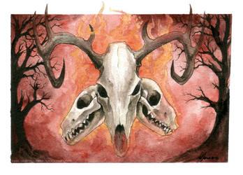 Caput Mortuum by drakhenliche