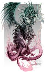 Astral Dragon by drakhenliche