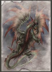 Dragon Attack! by drakhenliche