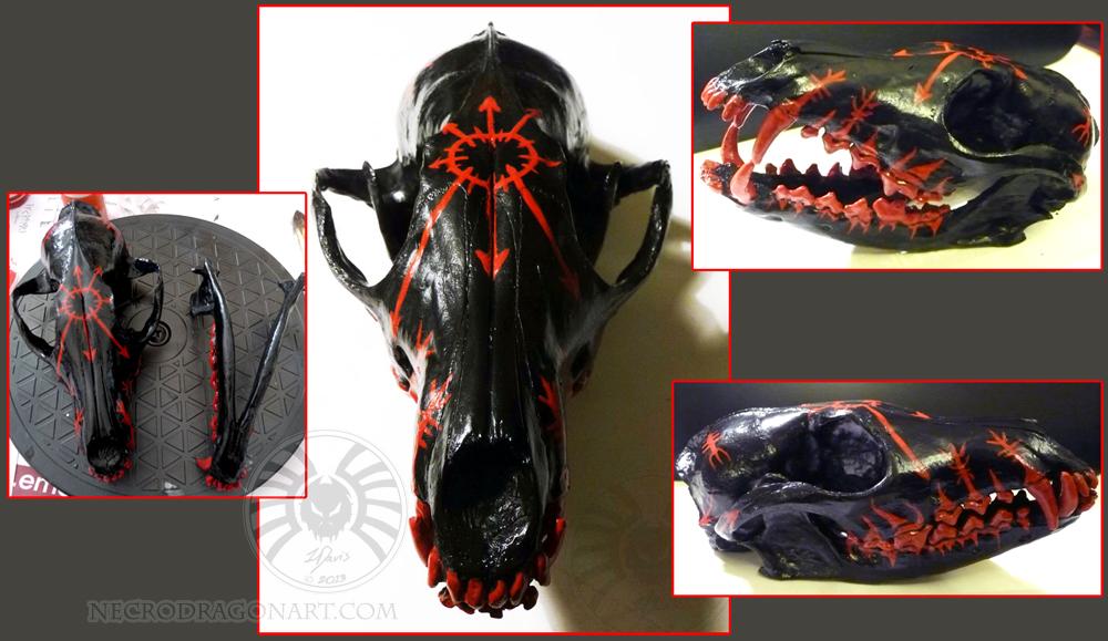 Chaos Skull by drakhenliche on DeviantArt