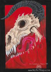 Flesh and Bone by drakhenliche