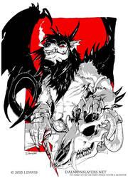 Message in Blood by drakhenliche