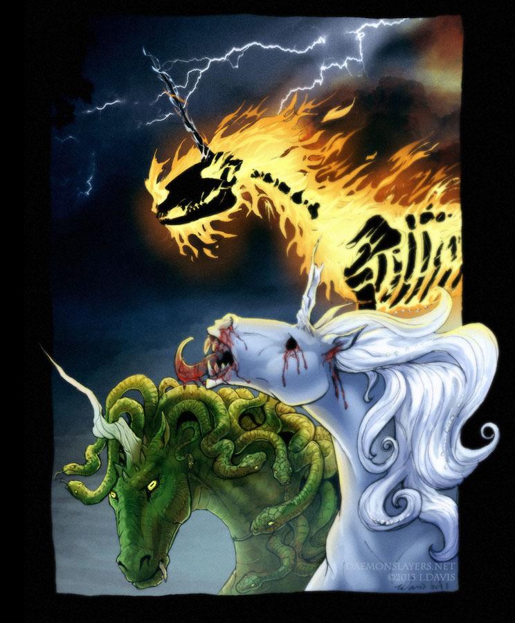 Unicorns Are Pure... by drakhenliche