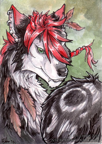 ACEO Eleweth by drakhenliche