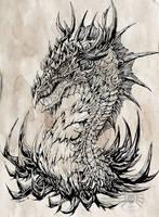 Regal Dragon by drakhenliche
