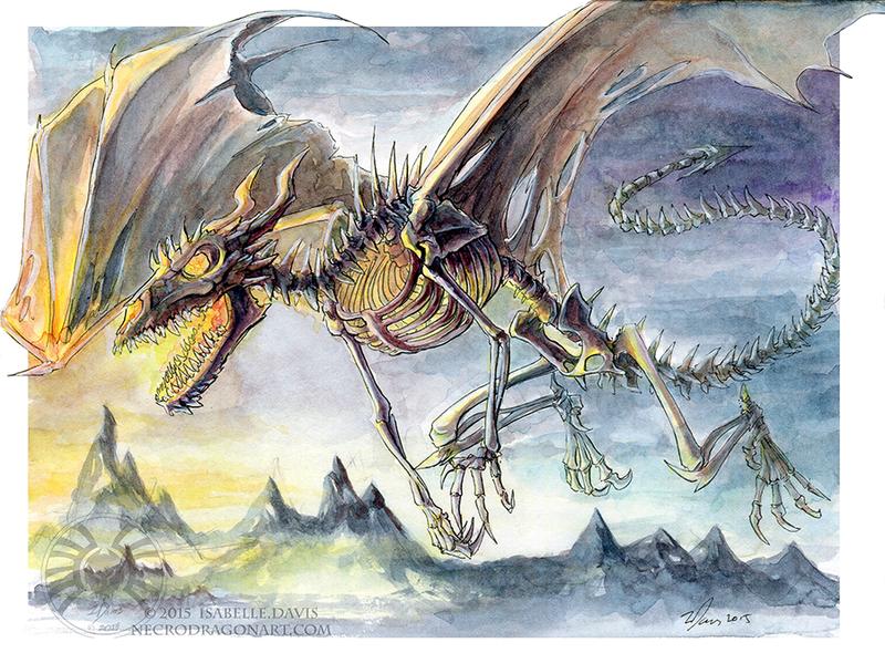 watercolour_skeletal_dragon_by_drakhenliche-d8wdg0l.png