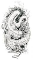 Sketchy Dragon by drakhenliche