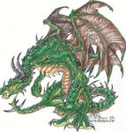 Four Winged Dragon