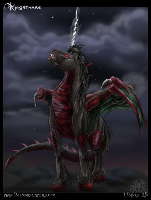 Death wish comes for pleasure stallions The_Dire_Unicorn_by_drakhenliche