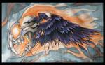 Silk Painting - Gotta Fly...