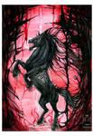 Dark Unicorn by drakhenliche