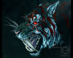 Chaos Tiger by drakhenliche