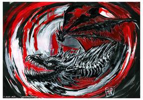 Happy dragon by drakhenliche