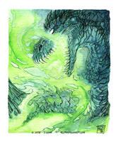 Green Fire by drakhenliche
