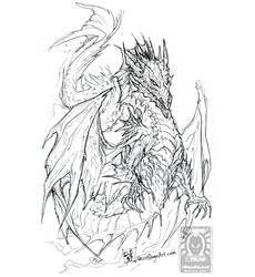 Inktober17 - Merdragon by drakhenliche
