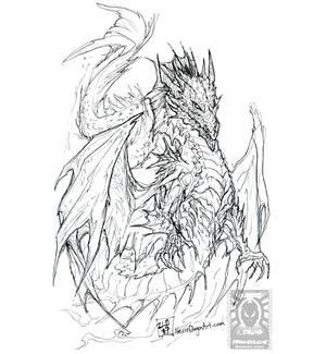 Inktober17 - Merdragon