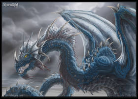 Blue Dragon. Stormlight by drakhenliche