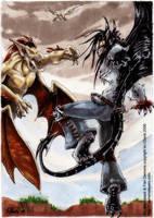 Dogfight by drakhenliche