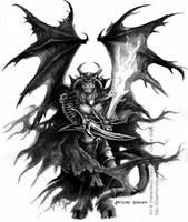 Archlord Saragoth by drakhenliche