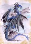 quick blue dragon