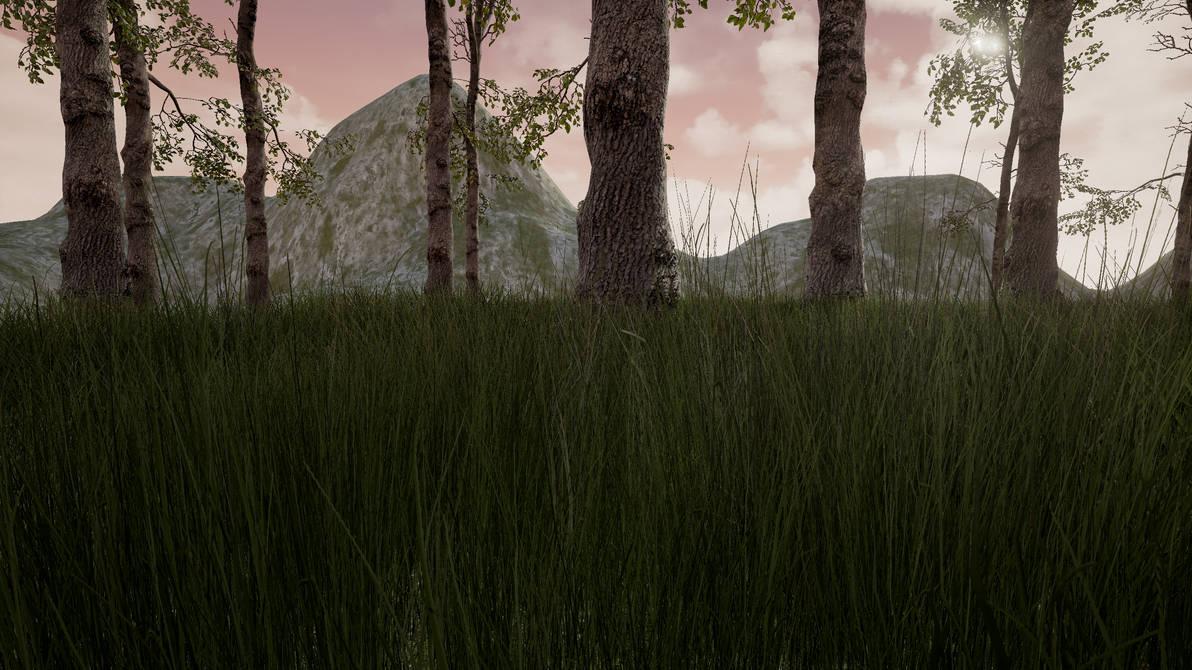 Unreal Engine 4 Landscape Rendering