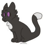 Ravenpaw by GlitchiChu