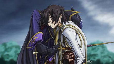 Code Geass - Zero Requiem by Silver-Fate
