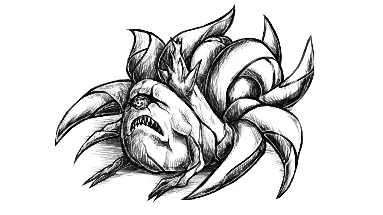 Juubi - Ten Tails - CHIBI by Silver-Fate on DeviantArt