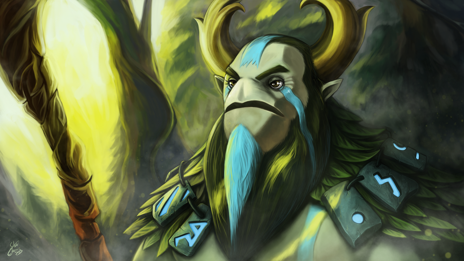 nature s prophet dota 2 by silver fate on deviantart