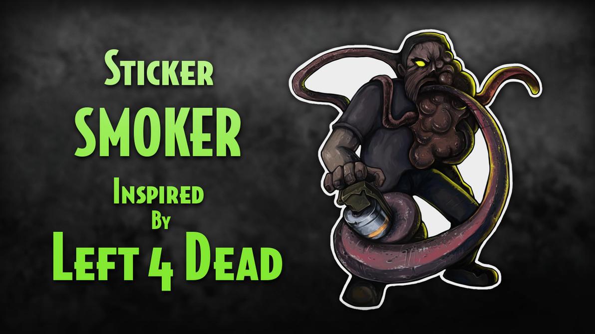 Smoker Sticker - CS:GO by Silver-Fate