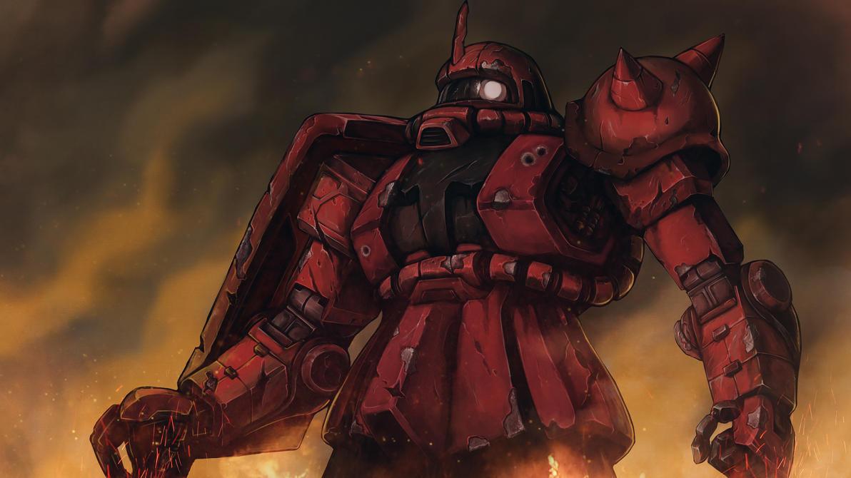 MS-06 Zaku II - Heavy Damaged by Silver-Fate
