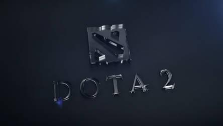 Dota 2 Logo Acrylic Blocks 3D