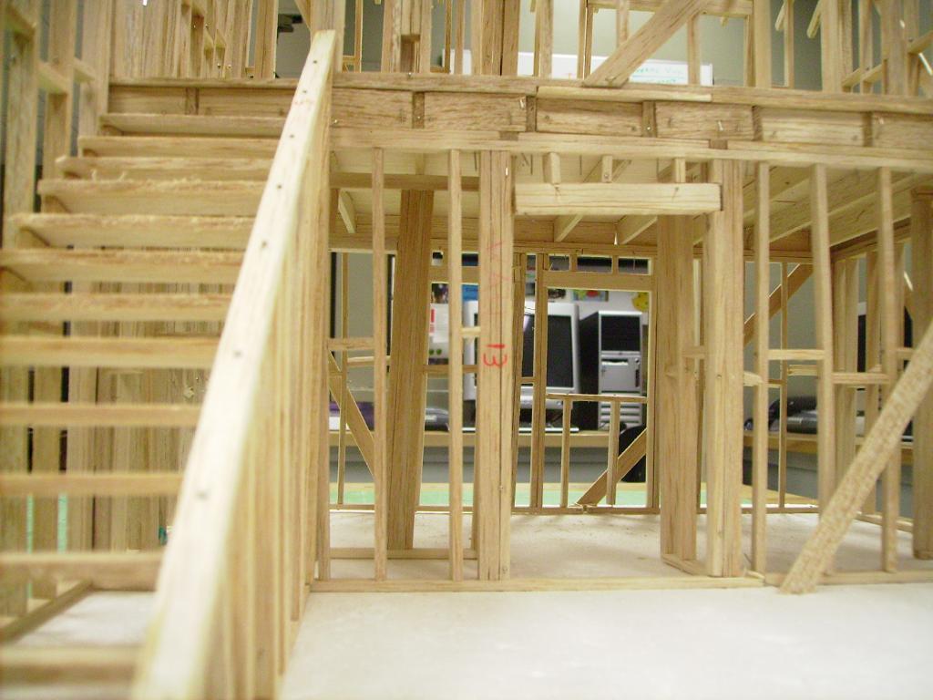 House model inside