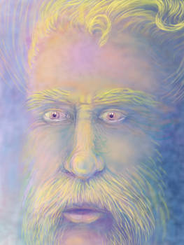Van Gogh inspired portrait